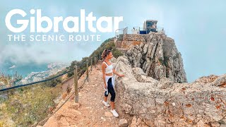 GIBRALTAR Travel Guide | 10 things to do + Monkeys via the Mediterranean Steps