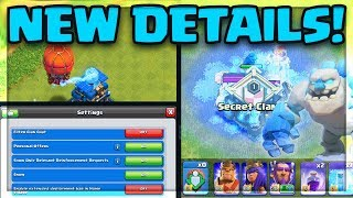 NEW UPDATE Details! The ENTIRE Clash of Clans Update in ONE !