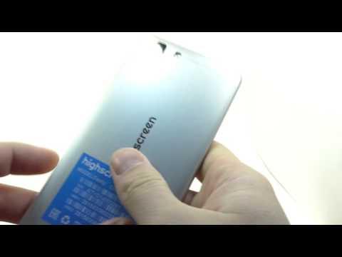 Видео обзор смартфона Highscreen Tasty 16 ГБ серый