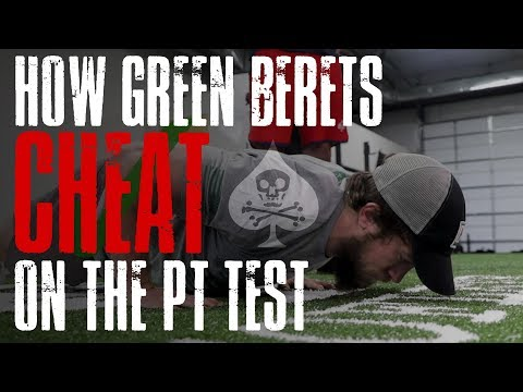 How Green Berets CHEAT on the PT Test! | SOFLETE