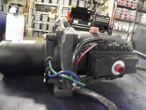 Sold Volvo Penta Sx Power Trim Pump And Motor