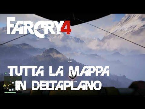 Far Cry 4 - Tutta La Mappa In Deltaplano!