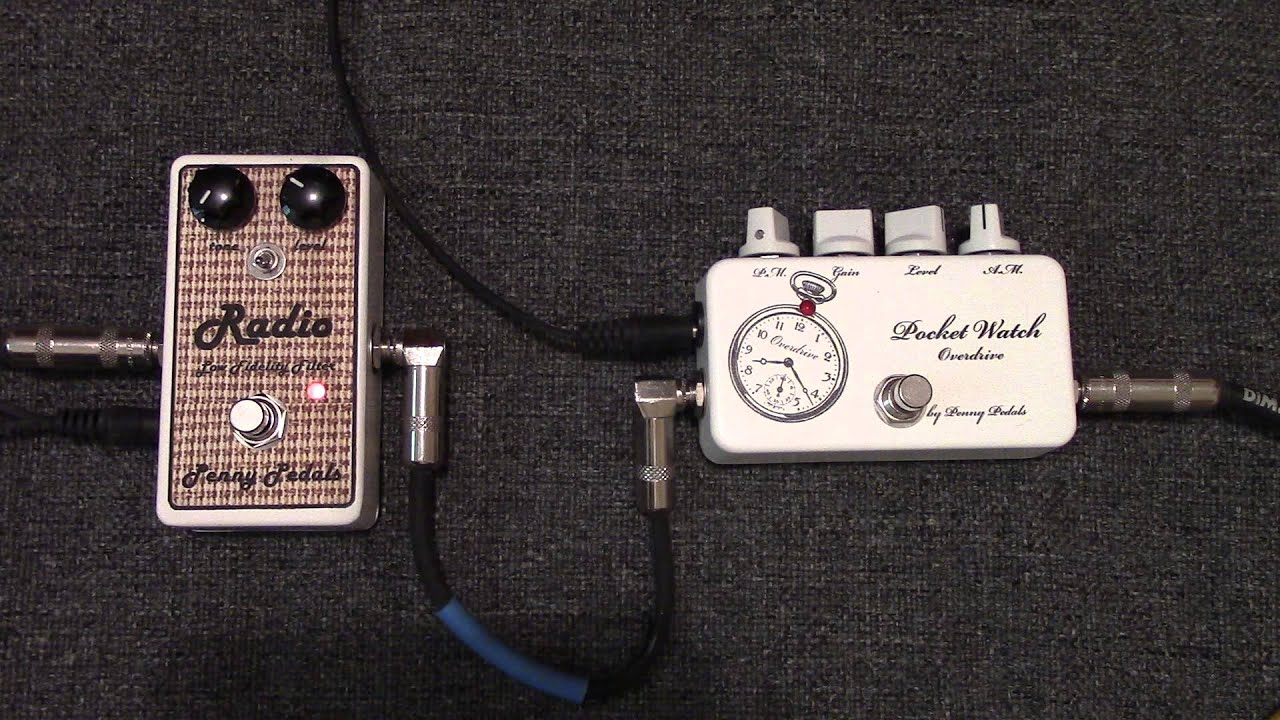 Penny Pedals Radio Lo Fi Filter Am Radio Guitar Effect