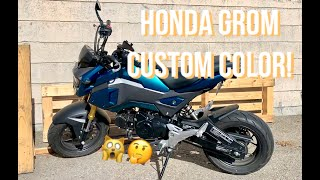 Rebuilding a Wrecked 2018 Honda Grom Motorcycle from Copart auction
