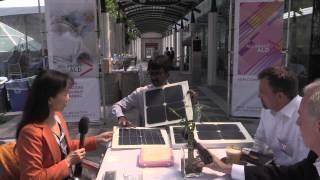 GT Advanced Technologies (GTAT) Brings Merlin To Solar Industry at InterSolar North America 2014