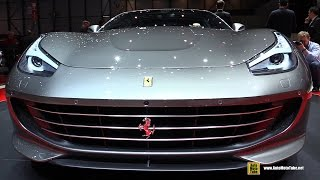 2017 Ferrari GTC4 Lusso - Exterior and Interior Walkaround - Debut at 2016 Geneva Motor Show