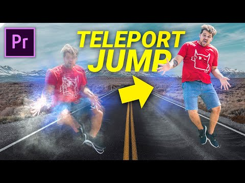 Teleport Effect (Jumper) in Premiere Pro + Motion Control