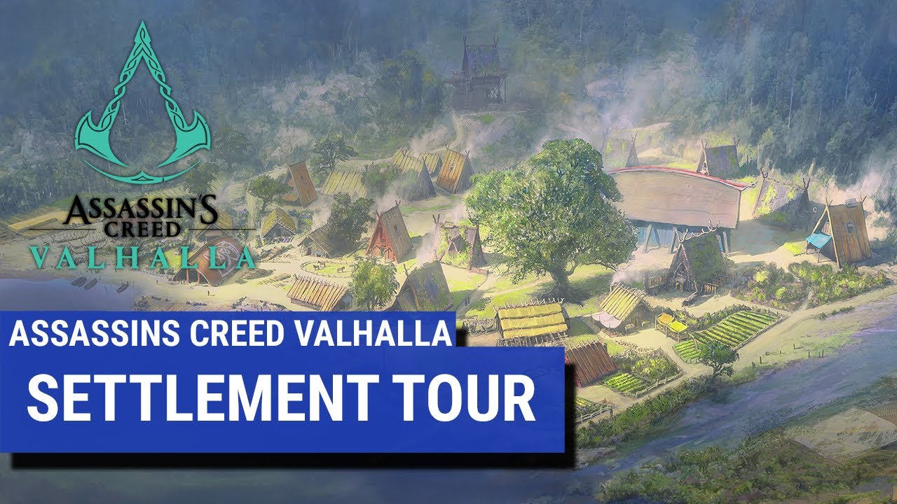 Assassin Creed Valhalla Settlement Tour Youtube