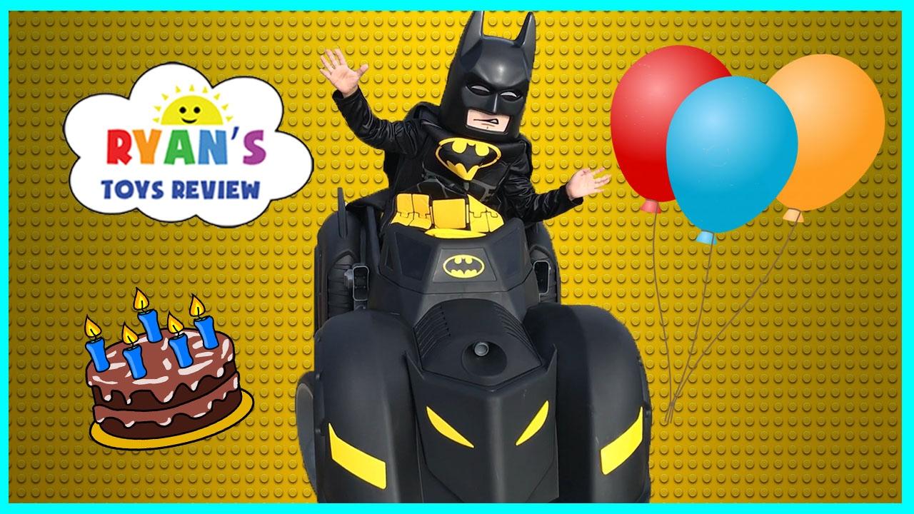 Batman Car Birthday Cake