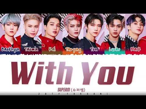 SuperM - 'WITH YOU' Lyrics [Color Coded_Han_Rom_Eng] indir