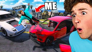 Can You Survive The HARDEST TRAFFIC Mod In GTA 5..