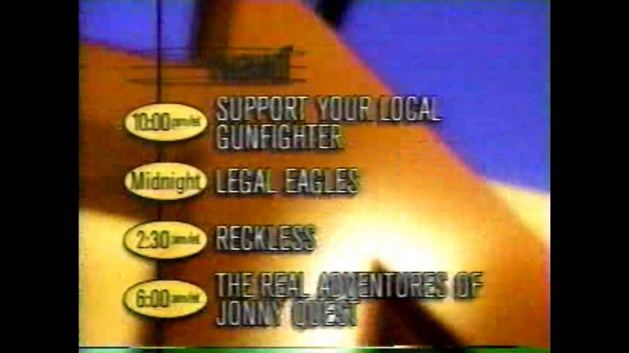 1997 tnt program lineup youtube