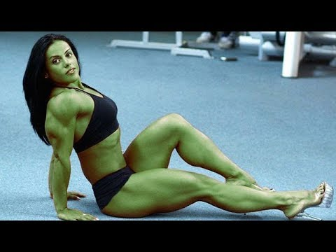She Hulk .The big green Lady