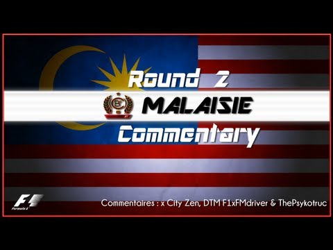 CBF 360 | F1 2012 World Championship | Season 8 - Round 2 : Malaysian GP (Gameplay/Commentary)