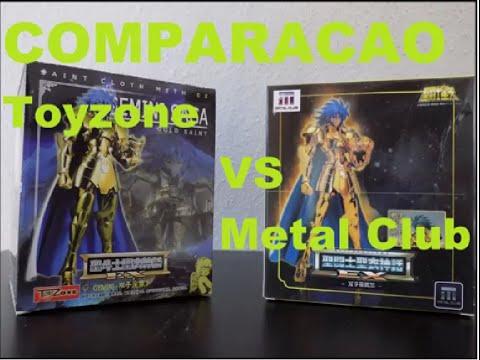 #06 - Comparacao Saga de Gemeos toyzone x metal club