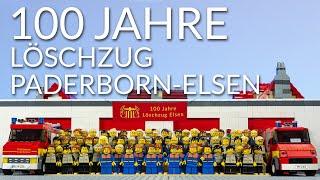 100 Jahre Löschzug Paderborn-Elsen | LEGO-Jubiläum mit Hundbrax