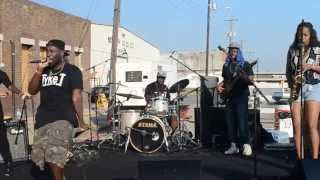 126 Tyke T & 4 Sound Wake Up Live at the River Arts Fest @Tyke T