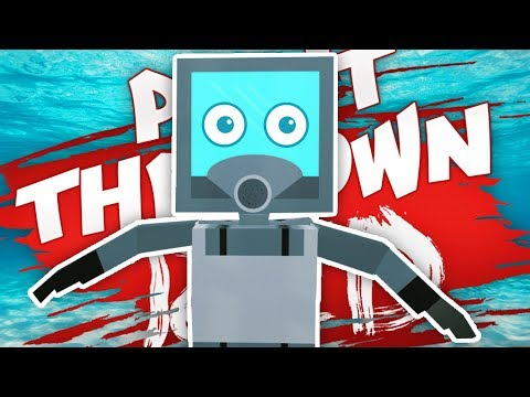 UNDERWATER BATTLES IN PAINT THE TOWN RED (Paint the Town Red Funny Gameplay)