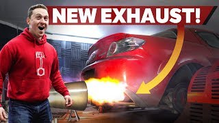 Fitting A Proper Exhaust To The Rx-8 And Power Runs (Until Disaster...)