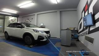 Peugeot 3008 1.6 bluehdi 120cv AUTO Reprogrammation Moteur @ 129cv Digiservices Paris 77 Dyno