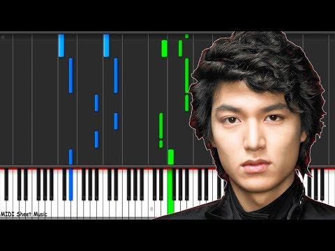 Boys Over Flowers - My Everything Piano midi