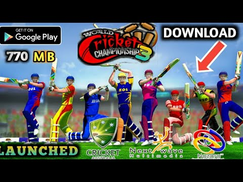 FINNALY WCC3 ™ DATE FIXED &REAL CRICKET 20 MEGA UPDATE+ NEW CRICKET GAME