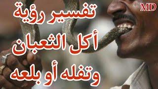 تفسير رؤية أكل الثعبان وتفله أو بلعه.شرح محمد مصطفى ابو عمران (مهم جداً)
