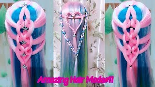 Beauty Color Hairstyle show | Amazing Hair Mode Part#11