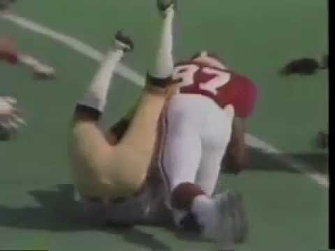 1986 Notre Dame at Alabama highlights