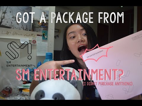 PAKET DARI SM ENTERTAINMENT?!! [PACKAGE FROM SM?! (with English subtitle)]