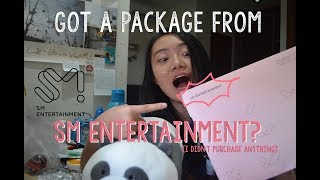 PAKET DARI SM ENTERTAINMENT PACKAGE FROM SM with English subtitle