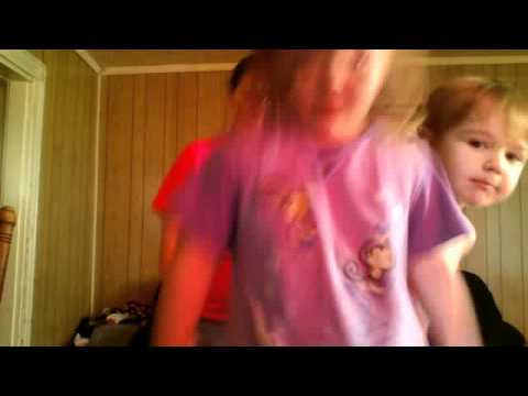 little girl dancing to im sexy and i know it