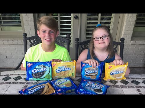 The Oreo Challenge (MattyBRaps Vs Sarah Grace)