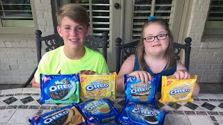 The Oreo Challenge (MattyB Vs Sarah Grace)