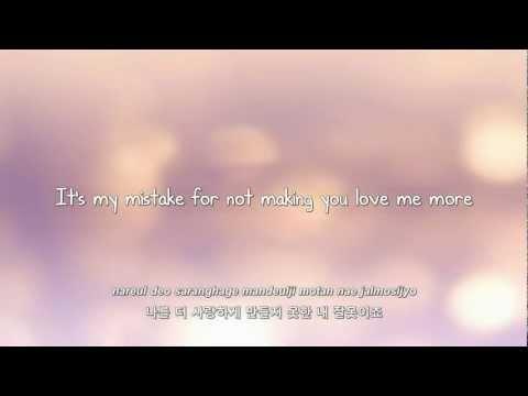 Girls' Generation- 내 잘못이죠 (Mistake) lyrics [Eng. | Rom. | Han.]