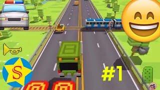 МАШИНКИ видео для детей Видео игры про машинки Смотреть все серии онлайн Игра blocky highway #1