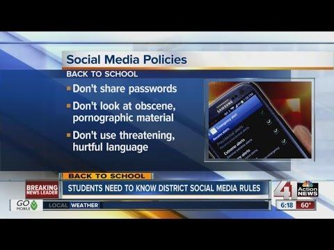 Understanding your school's social media policy