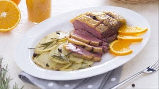 Orange Glazed Duck Breast - Recipe