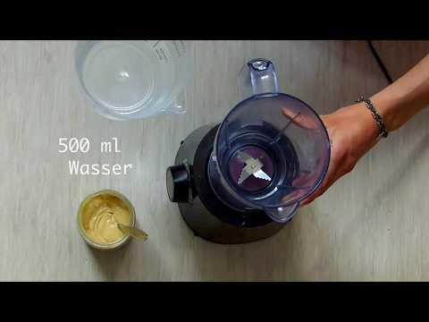 0 - Selbstgemachte Nussmilch in nur 1 Minute