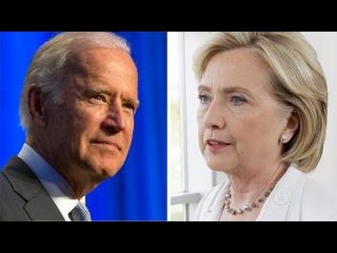Joe Biden and Hillary Clinton, From YouTubeVideos