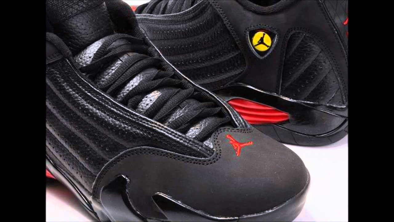 205762286593 Air Jordan 14 Last Shot - YouTube