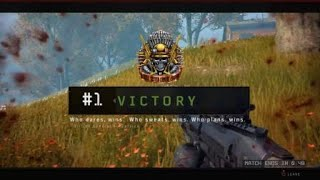 """""""The Sportsbull Drop"""" - BO4 Blackout Solo WIN (with live commentary)"""