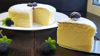 Японский ХЛОПКОВЫЙ чизкейк 🍥 ПОШАГОВЫЙ РЕЦЕПТ 🍥 Japanese cotton cheesecake
