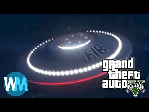 Top 10 Awesome Secrets in Grand Theft Auto V