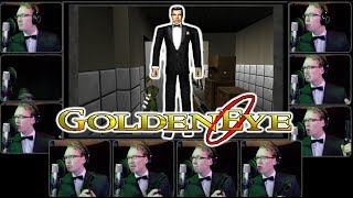 GoldenEye 007 (N64) - Main Theme Acapella
