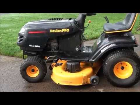 HOW TO REPAIR the STEERING LINKAGE on a common RIDING LAWN Mower ~Craftsman  Poulan etc