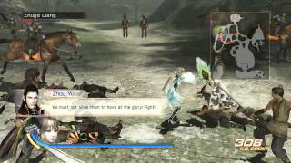 Dynasty Warriors 7 English Gameplay