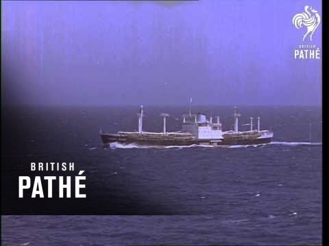 Cargo Ship At Sea   (1964)