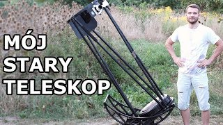 Teleskop znaleziony w szopie