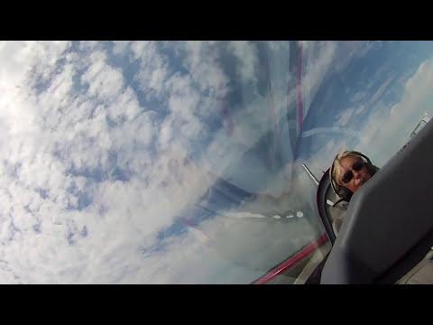 Patty Wagstaff Ride Along - In Cockpit - EAA AirVenture Oshkosh 2015 Sunday